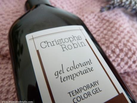 Gel colorant temporaire Christophe Robin