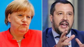 Allemagne-manifs racistes: Et si Matteo Salvini balayait devant sa porte.