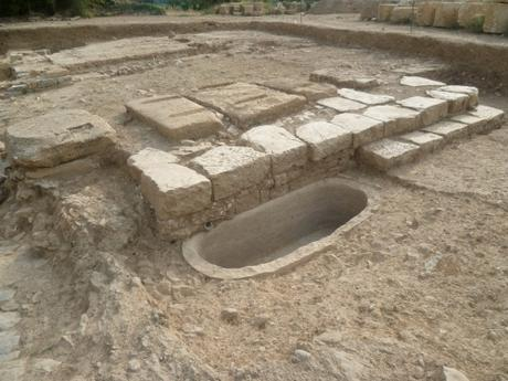 archéologie,histoire,forum antique,site archéologique,murviel les montpellier