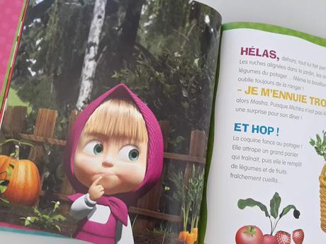 La petite histoire des grandes émotions de Masha de Natacha Godeau - Masha et Michka