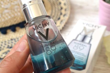 Minéral 89 de Vichy, le sérum booster d'éclat post-vacances