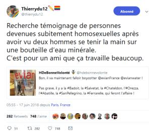 l'#homophobie crasse de la conseillère régionale #RN #Paca @EleonoreBez #LGBT
