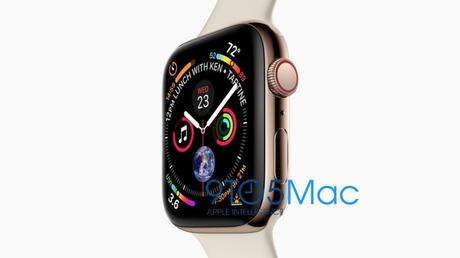 Apple fait fuiter les iPhone XS 5,8/6,5 pouces & l'Apple Watch 4