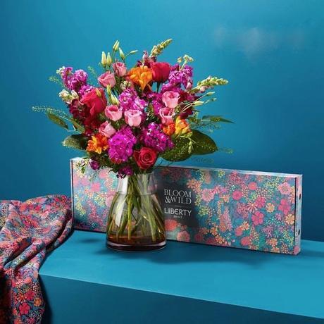 bloom and wild x liberty print collaborations de la rentrée 2018 - clem around the corner