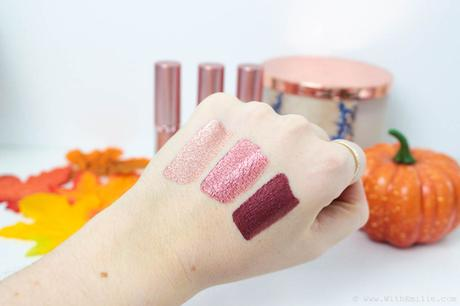Les nouveaux rouges à lèvres liquides Metals de Golden Rose : parfaits pour l'automne