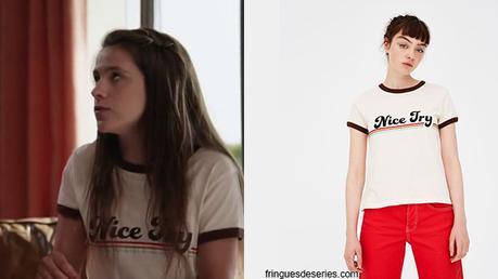 Un si grand soleil : le t-shirt «Nice Try» de Léa dans l'épisode 7