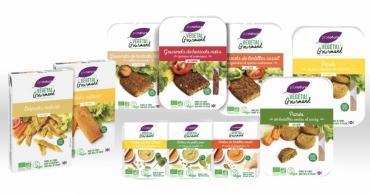 La gamme de produits traiteur bio vegan sans...