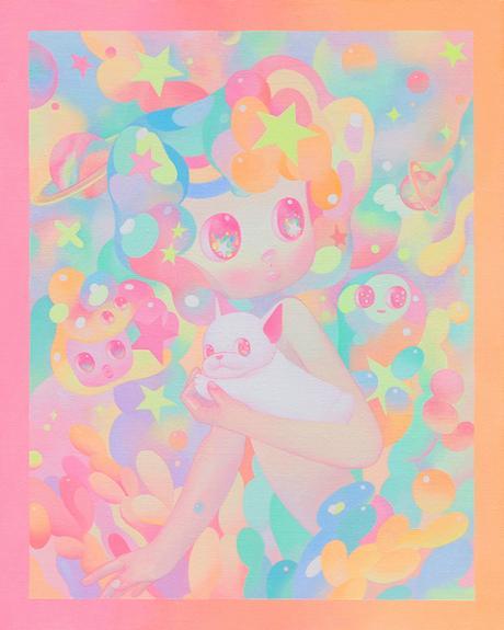 Les illustrations colorées et techniques de So Youn Lee