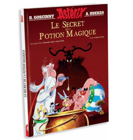 Révélation de la couverture de L'album illustré « Astérix Le Secret de la potion magique »