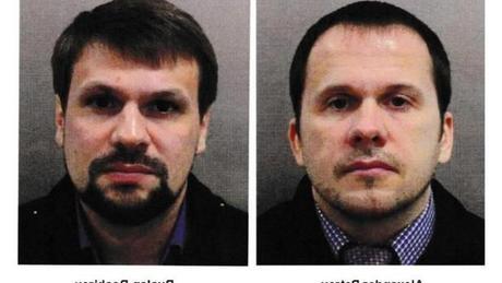 Londres dévoile deux suspects dans l'affaire de l'empoisonnement au Novitchok