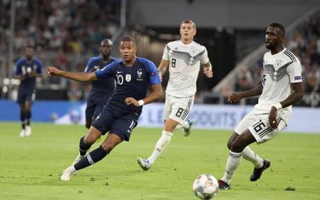 Kylian Mbappé Allemagne - France Coupe des Nations