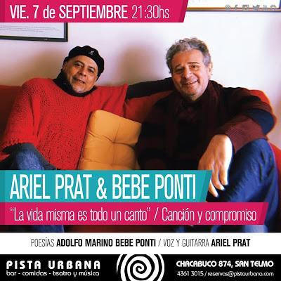 Ariel Prat à La Pista Urbana ce soir [à l'affiche]