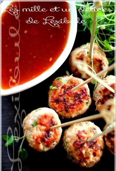 ~Boulettes de crevettes à la thaïlandaise~