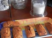 Petits carrot cakes farine semi-complète pépites chocolat