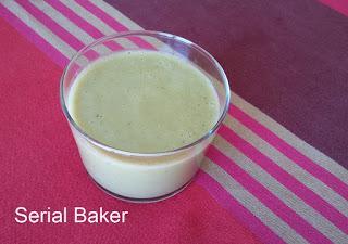 Soupe froide de poivrons verts