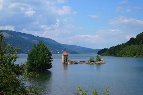 macédoine national park mavrovo église saint-nicolas lac