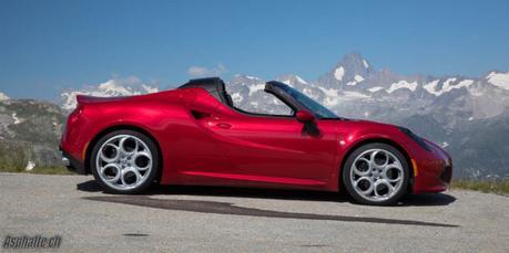 Essai comparatif: Alpine A110 & Alfa Romeo 4C Spider