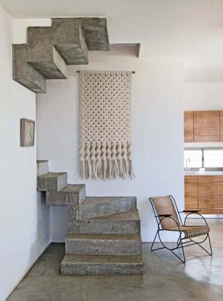 Project Inside / Des macramés pour sublimer un mur /