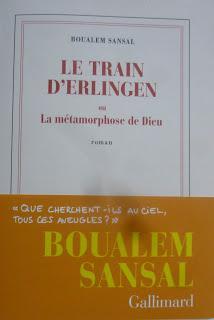 619_ Le train d'Erlingen, Boualem Sansal