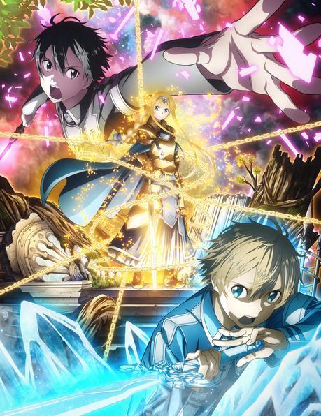 Un trailer et une date pour l'animé Sword Art Online Alicization