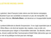 Michelle Blanc n'est autre que… N'en déplaise Lisée.