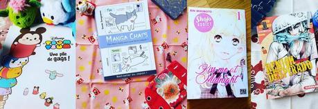 Quatre nouveaux manga à découvrir