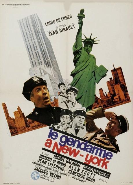 Le Gendarme à New-York (1965) de Jean Girault