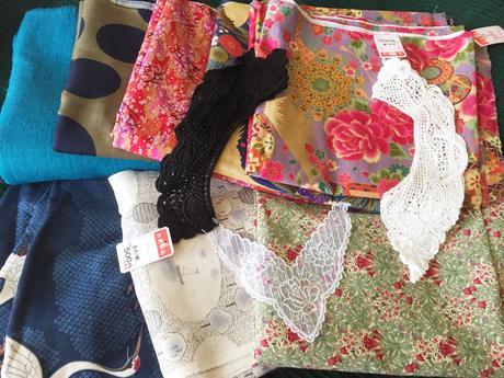 J'ai acheté des tissus au Japon