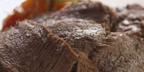 Bœuf braisé au four