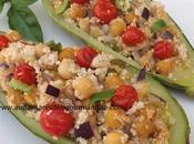 Courgette farcie semoule légumes *Healthy* Hygge*Comfort Food Vegétarien*
