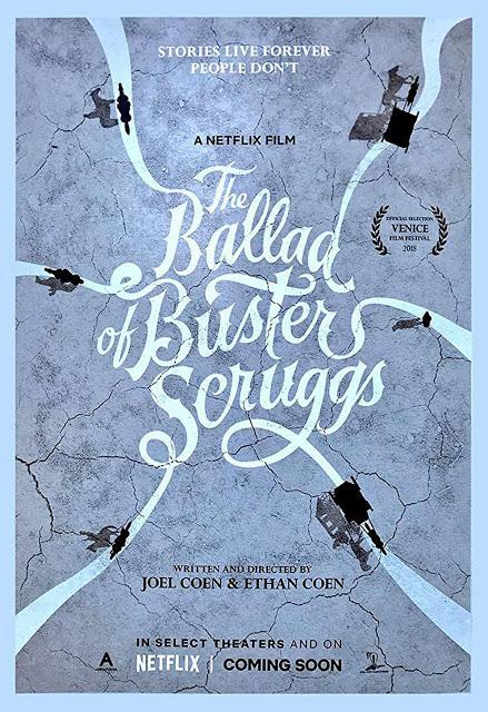 Première bande annonce VOST pour La Ballade de Buster Scruggs de Joel et Ethan Coen !