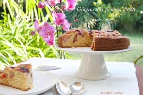 Gâteau aux prunes d'ente