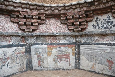 Un ancien tombeau octogonal révèle des contes de la Chine sous l'ère mongole