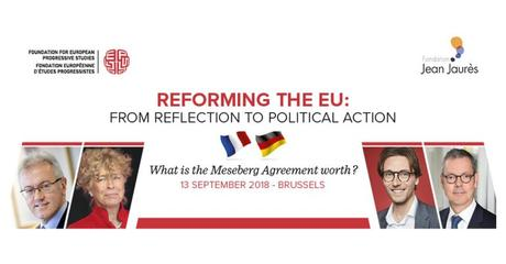 Reforming the EU: From Reflection to Political Action