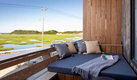 Cape Cod / Awol, un hôtel bohème face à la mer /