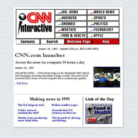 Un musée virtuel dédié au webdesign de 1995 à 2005