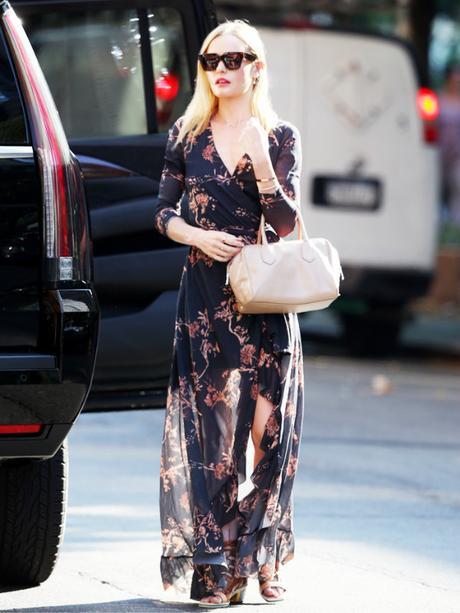 Kate Bosworth est vraiment la reine du style floral