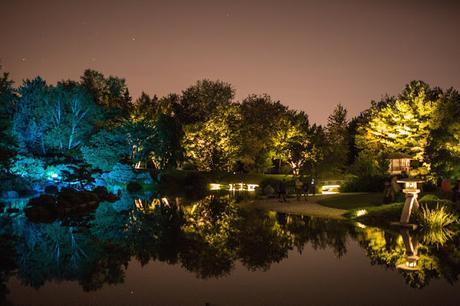 Les jardins des lumières, de retour a Montréal