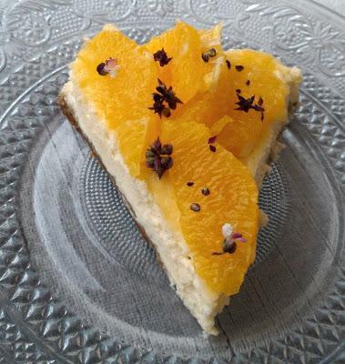 Cheesecake Orange Citron Vert