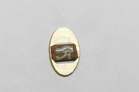 oeil horus en or pour pendentif egyptien