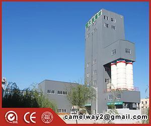 HZS120 Centrale à béton mixte à haute efficacité prête à vendre