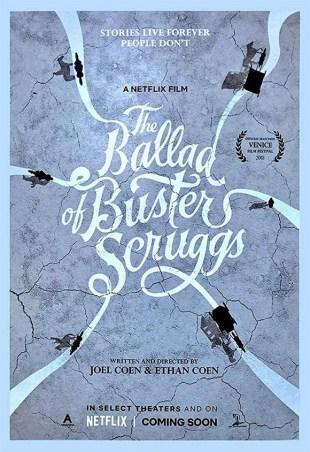 [Trailer] La Ballade de Buster Scruggs : le nouveau film des frères Coen débarque sur Netflix !