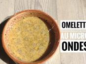 Omelette micro ondes