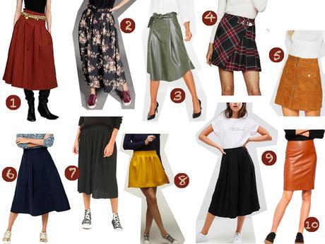 10 jupes parfaites pour la rentrée