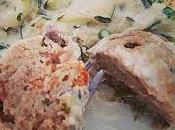 Boulettes champignons sauce courgette