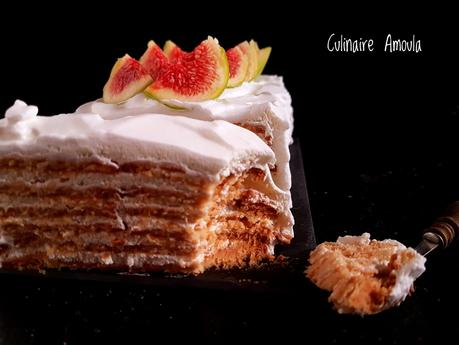 Gâteau express aux biscuits