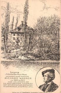 La maison de Richard Wagner à Tribchen, une note de voyage de Catulle Mendès en 1869