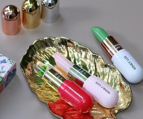 Les baumes à lèvres de la marque Winky Lux !