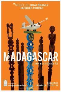 Musée du quai Branly exposition MADAGASCAR à partir du 18 Septembre 2018