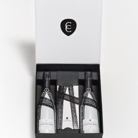De nouvelles Nouvelles de Champagne CASTELNAU pour un coffret collector cycliste
